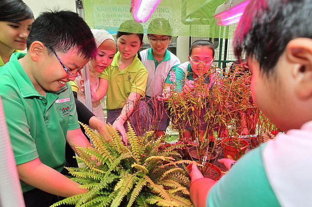 Environmental Education through Corporate Partnership