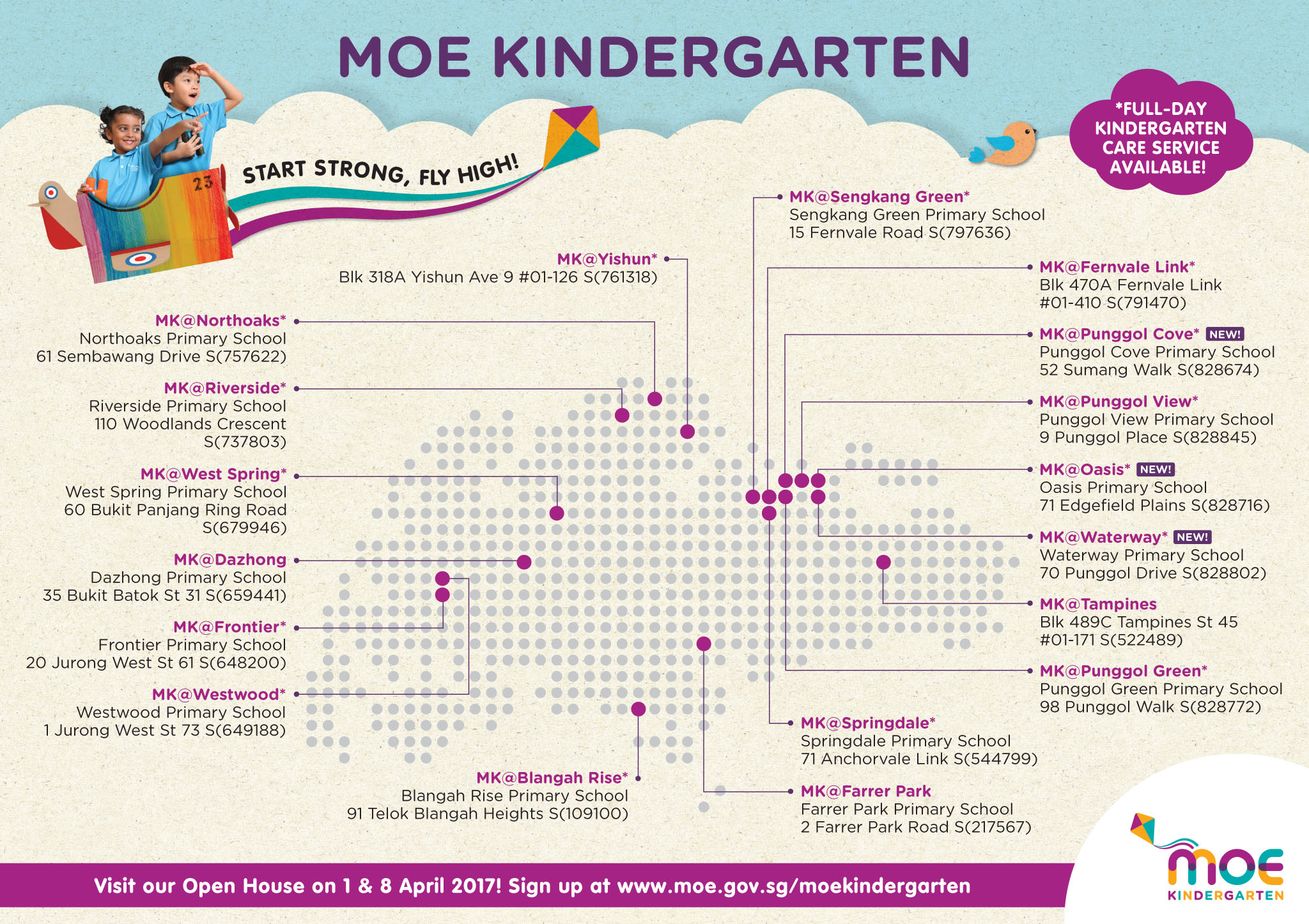 MOE Kindergarten Open House and Registration