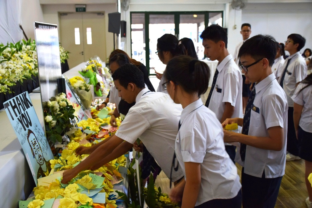 Tribute to LKY - Guangyang Secondary