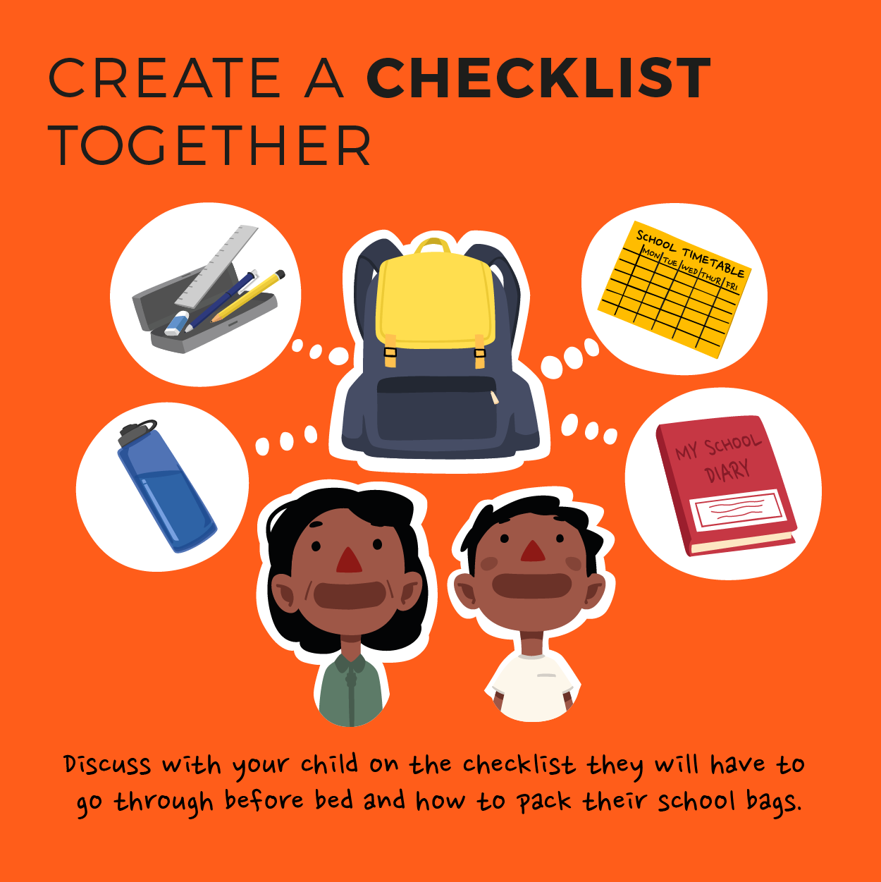 Make a checklist together