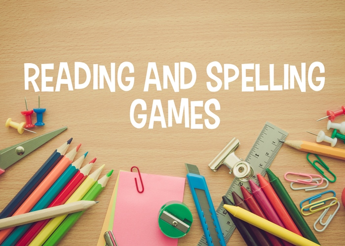 Reading and Spelling Games for Kids