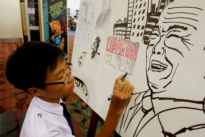 Tribute to Mr Lee Kuan Yew - Nan Hua Secondary