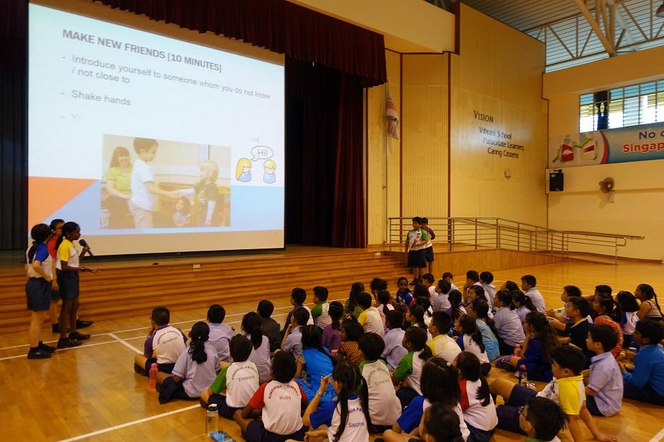 Nurturing future leaders at Xinghua Primary School