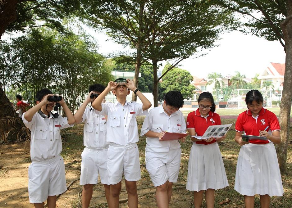 Encouraging care for nature at Chung Cheng High School (Main)