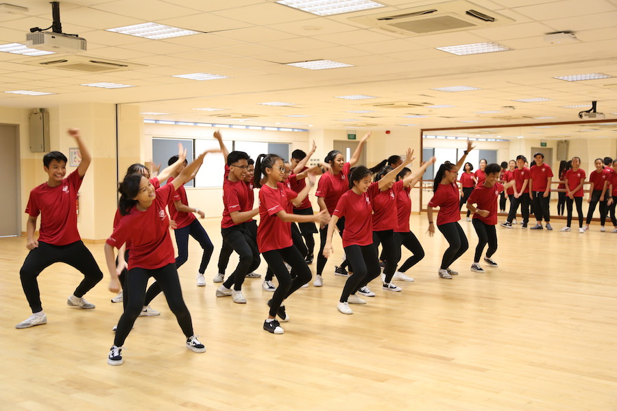 Tampines Secondary School's Street Dance