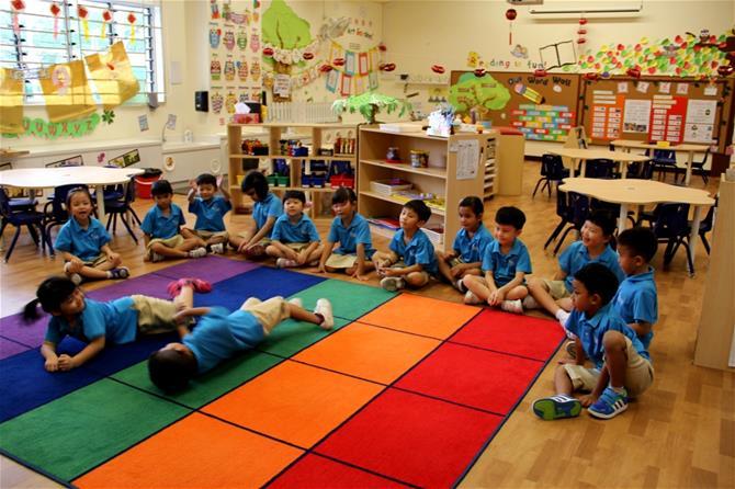 MOE Kindergarten @ Punggol View Celebrates Total Defence Day - Story