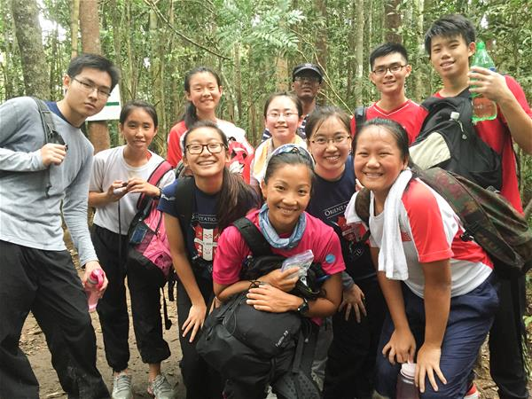 Climbing Ophir with the students_Qihui