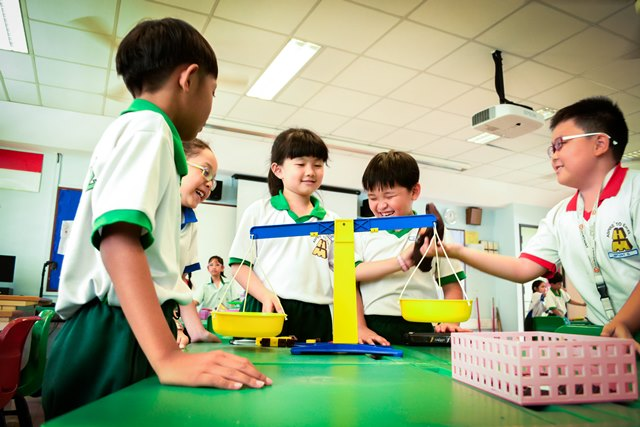 make learning science fun at huamin primary