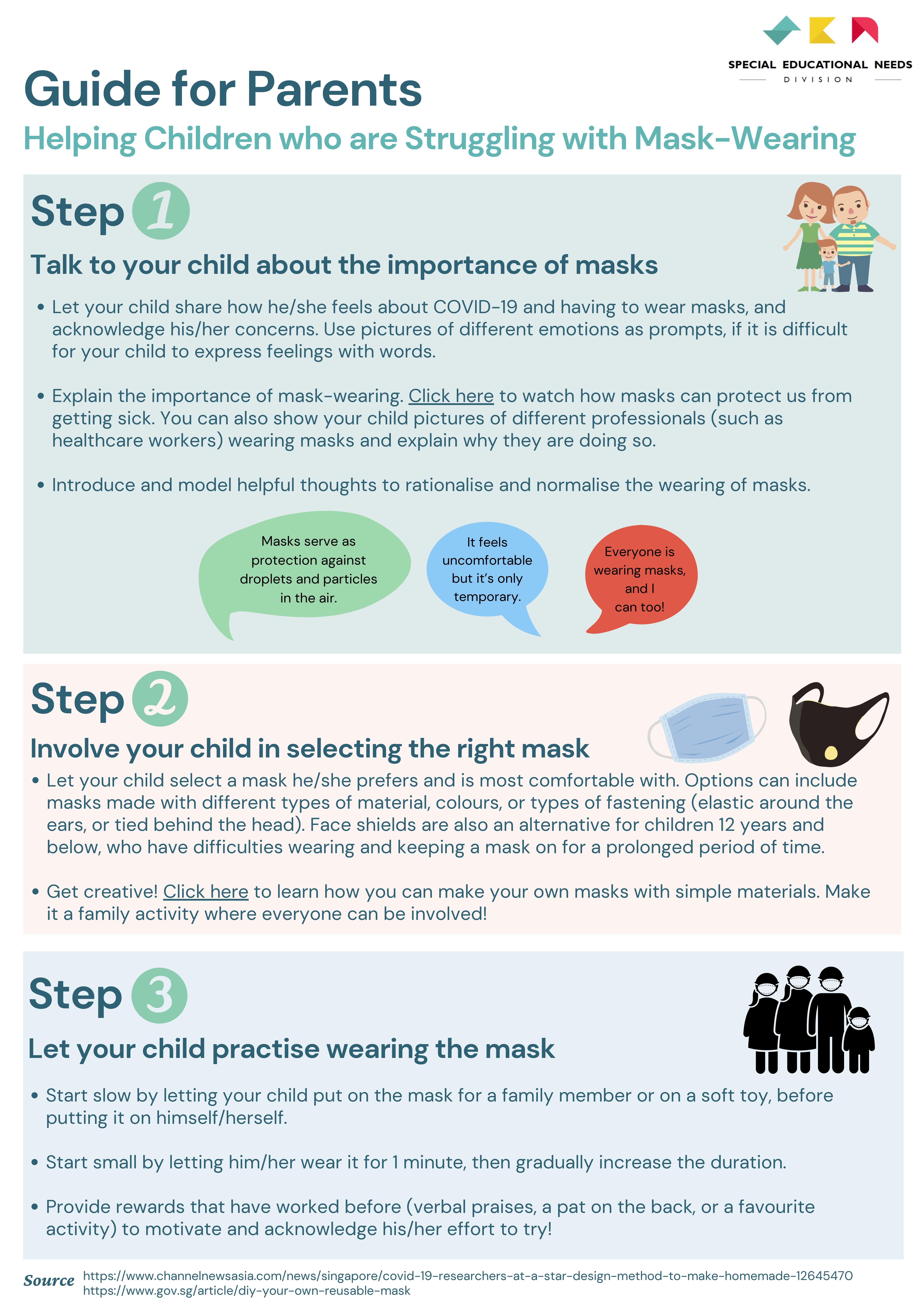 Revised Guide for Parents (Mask Wearing) 1