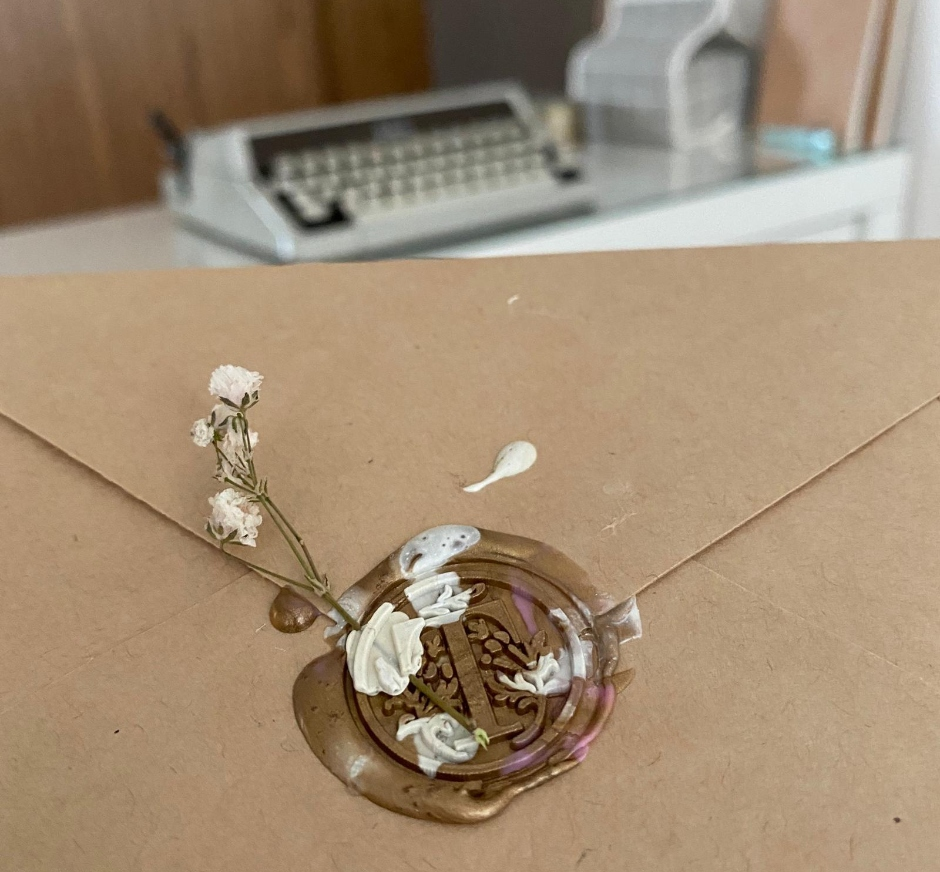 #6's snail mail that is going out to a classmate